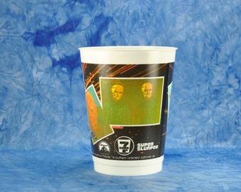 Vintage Star Trek Slurpee Cup, 25th Anniversary, 7 Eleven 1991 featuring Aliens