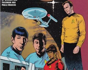 Vintage Star Trek Comic Book, Star Trek Original Series, Modala Imperative, Number 1, 1991, DC Comics