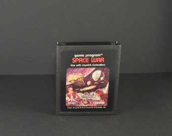 Vintage Atari 2600 Game Space War, 1979