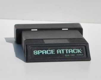 Vintage Atari 2600 Game, Space Attack, Atari, 1982