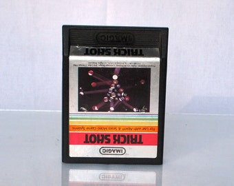 Vintage Atari 2600 Game, Trick Shot, iMagic, 1982