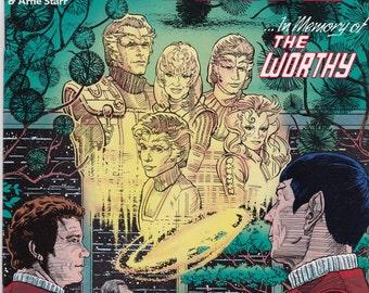 Vintage Star Trek Comic Book, Star Trek Original Series, Number 14, December 1990, DC Comics