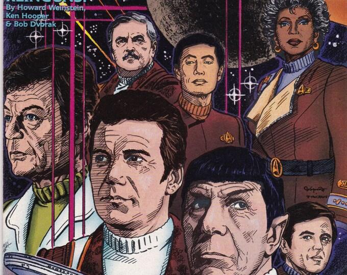 Vintage Star Trek Original Series Comic Book No 17, March 1991