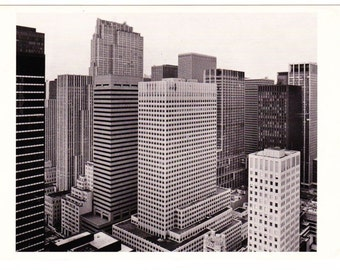 Vintage Postcard From Photo Chronicles LTD Depicting The View From 540 Madison Ave New York 1980 Photographed By Harry Wilks