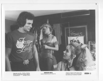 Vintage Photograph, Karen Black, Tony Lo Bianco, Separate Ways 1981