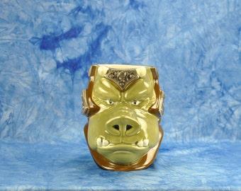 Vintage Star Wars Ceramic Figural Mug Gamorrean Guard 1990s Shadow Of The Empire, Applause Mug, Star Wars Mug, Hand Painted, Applause