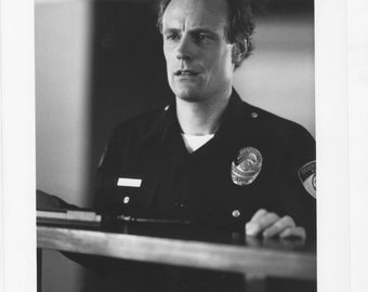 Vintage Photograph, Matt Frewer The Taking Of Beverly Hills, 1991 8x10 Black & White Promotional Photo
