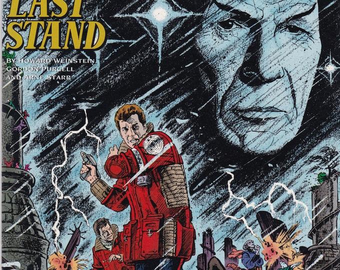 Vintage Star Trek Original Series Comic Book No 21, July 1991