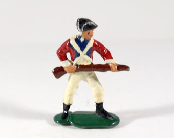 Vintage Britain's American Revolutionary War Soldier, 1950s,