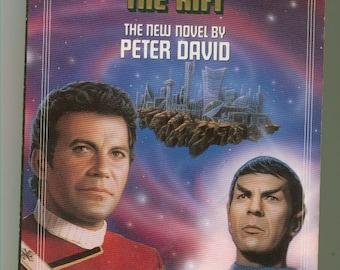 Vintage Star Trek Book, The Rift No 57 1991 Paperback