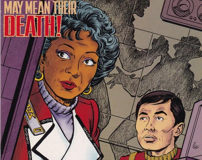 Vintage Star Trek Original Series Comic Book, DC Comics No 30, April 1992