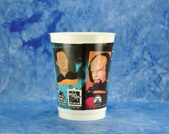Vintage Star Trek Slurpee Cup from The Next Generation, 7 Eleven 1991