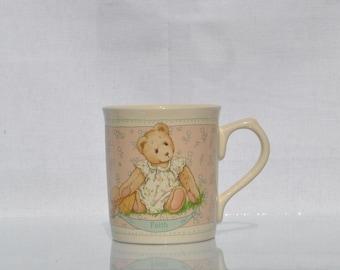 Vintage Cherished Teddies Cup, Priscilla Hillman, Enesco, 1994, collectible Cup, teddy bear, Vintage Cup, Enesco Cup, Childrens Cup, Kids