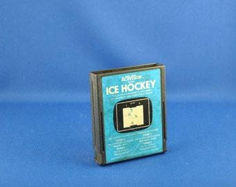 Vintage Atari 2600 Game Ice Hockey, 1981