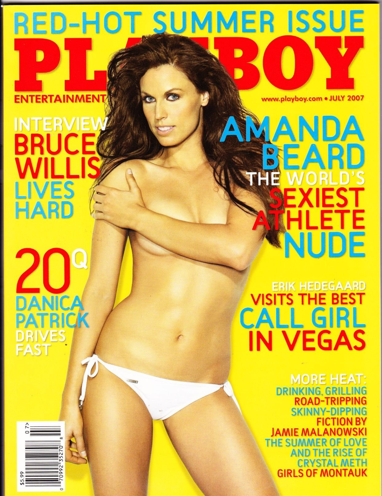Naked amanda beard in playboy magazine ancensored
