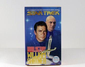 Vintage Star Trek: Dark Victory by William Shatner,, Book, Star Trek, 1999