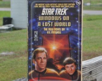 Star Trek: Windows on a Lost World 1993 Paperback