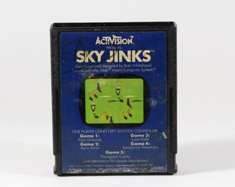 Atari 2600 Vintage Sky Jinks Game From 1982 - Activision