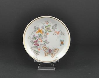 Vintage Avon Fine Porcelain 'Butterfly Fantasy' Miniature Plate