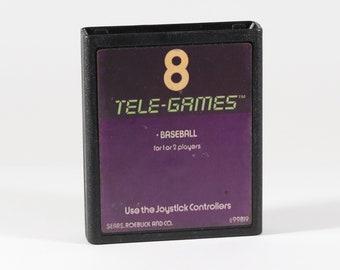 Vintage Atari 2600 Game, Baseball, Sears Tele-Games, 1978