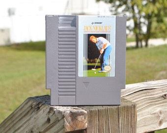 Vintage Nintendo Game, Jack Nicklaus' Greatest 18 Holes of Major Championship Golf, Konami 1988