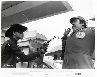 "Vintage Photograph Keith Knight, ""GAS"", 1981, 8x10 Black & White Promotional Photo"