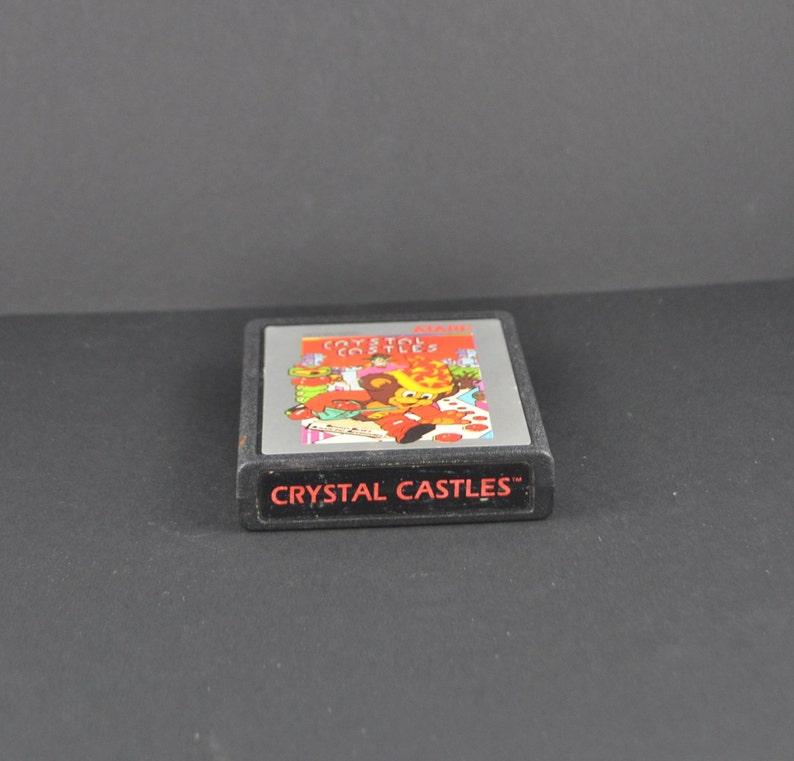 Vintage Atari 2600 Game, Crystal Castles, Atari, 1982, Atari Game, Atari  Console, Cartridge, Atari Cartridge, Atari Computer, Atari Games