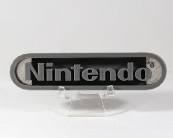 Retro Nintendo Logo 3D Print PLA Filament