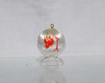 Vintage Hallmark Keepsake Christmas Ornament, Santa's Watching 1975, Hallmark Christmas, Keepsake Ornament, Vintage Christmas, Hallmark