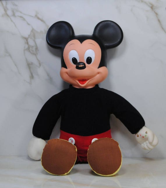 Vintage Mickey Mouse Marching Mickey Mouse Disney Hasbro Etsy