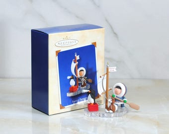 Hallmark Keepsake Frosty Friends Christmas Ornament 24th In A Series All Hands On Deck 2003 Handcrafted Ornament
