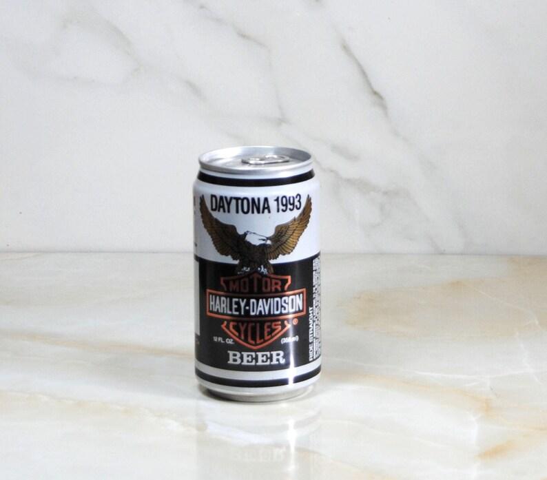 Vintage Beer Can, Harley Davidson, Beer, Sturgis 1992, Black Hills, Limited  Edition, Heavy Beer, Vintage Harley, Harley Beer Can