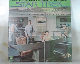 Vintage Star Trek Original Series Record 1979 Peter Pan Records 33-1/3 #8158 - Passage To Moauv - In Vino Vertias - Crier In The Emptiness