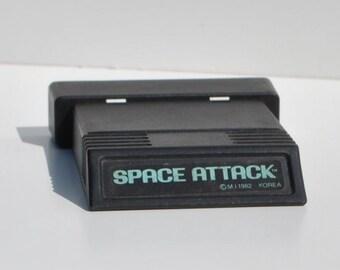 Vintage Atari 2600 Game, Space Attack, Atari, 1982