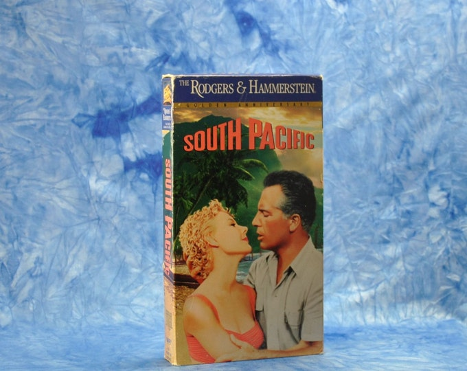 Vintage VHS Tape, South Pacific, 1958, 1994 Re-Release, VHS Movie, vcr Tape, vhs Tapes, Vintage Movie, vhs tape player, Vintage Tape