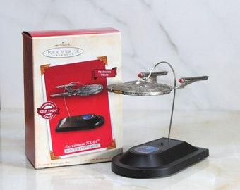 Hallmark Keepsake Ornament Star Trek Enterprise NX-01 2002