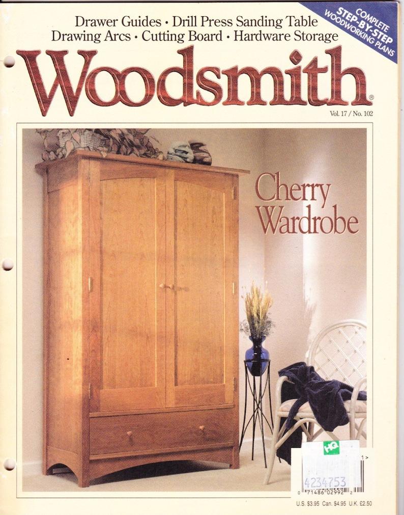 December 1986 issue of woodsmith magazine