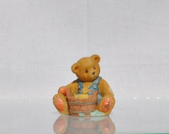 Vintage Cherished Teddies, Robert 1995, Priscilla Hillman Enesco Figurine