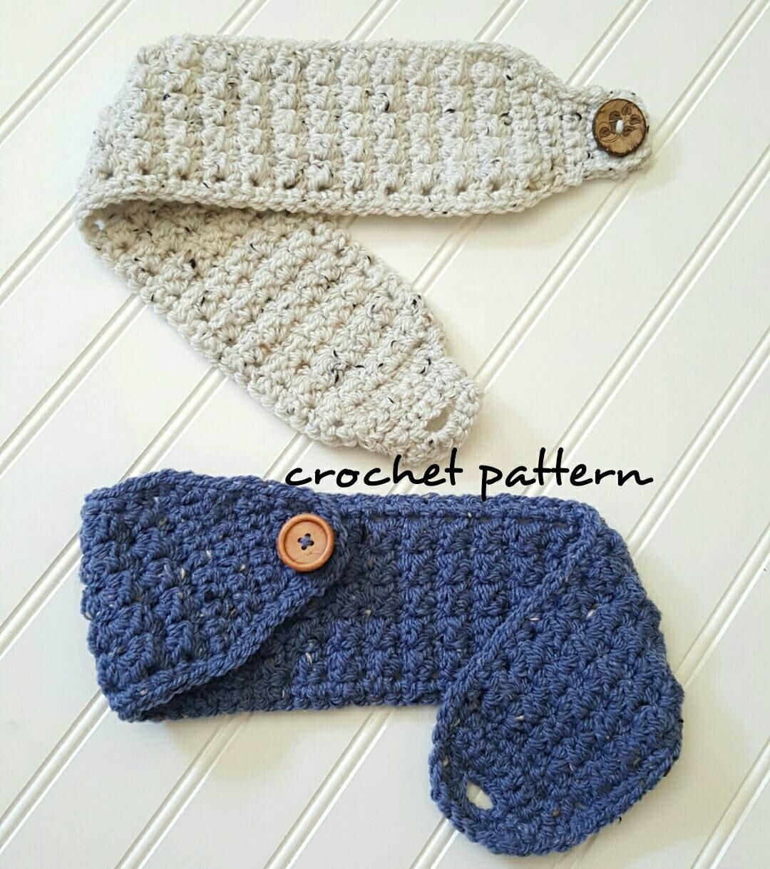 Crochet Headband Pattern Easy Crochet Pattern Winter Head Etsy