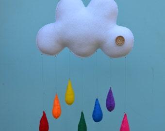"The ""Original"" Milbot & Chooky childrens mobile, handmade childrens decor."