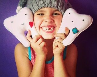Tooth pillow (heart)