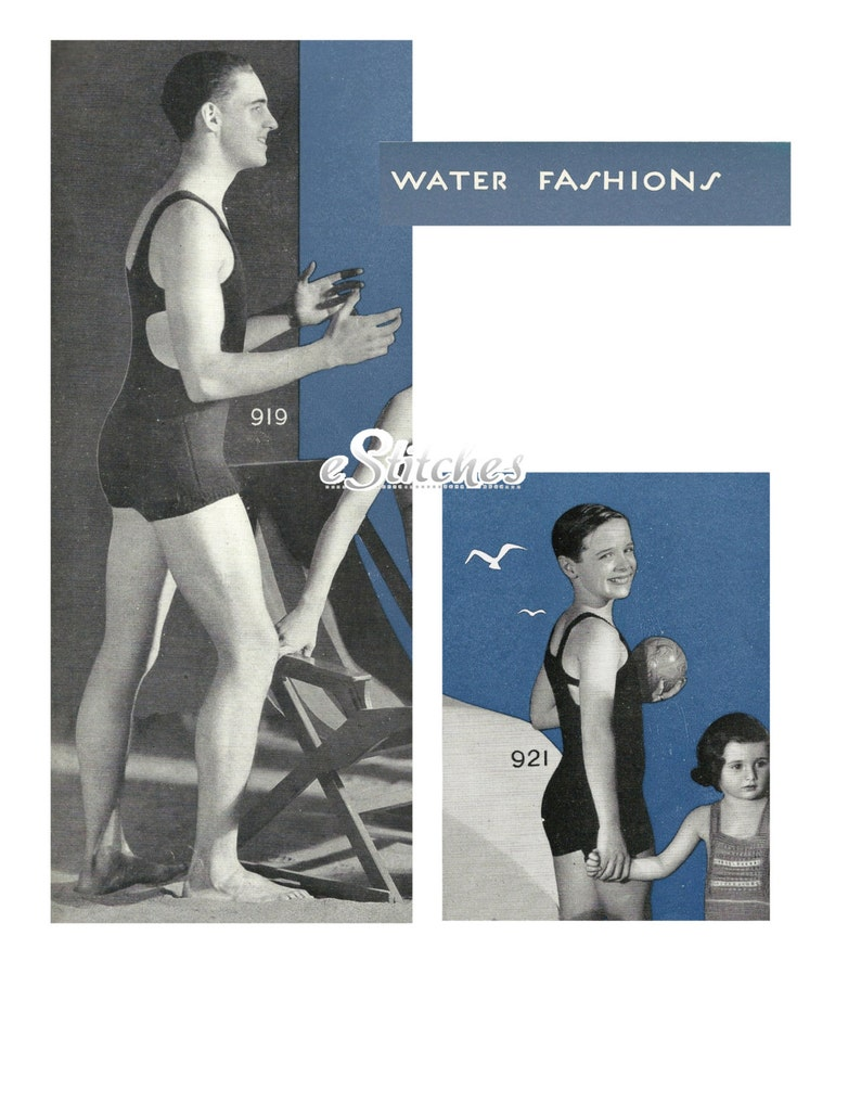 1930s Beach Romper from the resort destinations of Pre