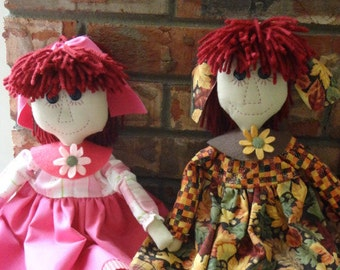 Autumn and Eve Doll Digital Pattern from Sew Practical, Mom and Pop Craft