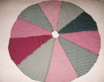 Round Tree Skirt Digital Pattern by Sew Practical, Mom and Pop Craft