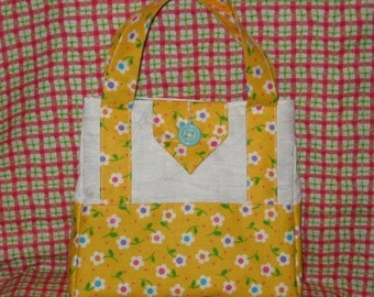 Sassy Tote Mailed Paper Pattern by Sew Practical, Mom and Pop Craft