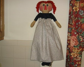 Grocery Bag Holder Doll Pattern Digital Download by Sew Practical, Mom and Pop Craft