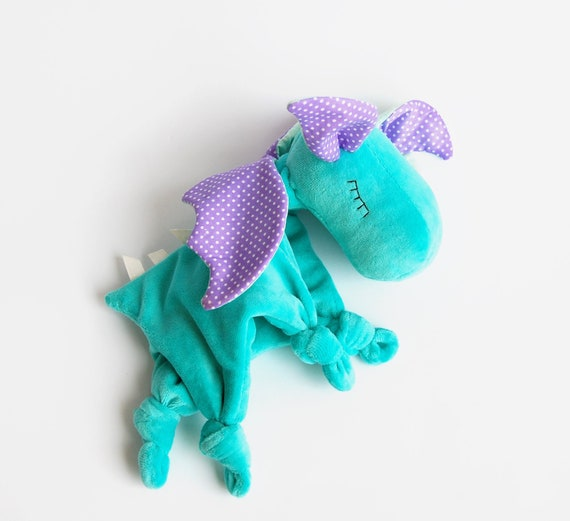Baby Dragon Toy Snuggle Teether Baby Blanket Baby Lovey Security Blanket Cozy Comfy Buddie Taggies Blanket Embroidered Baby Blankets