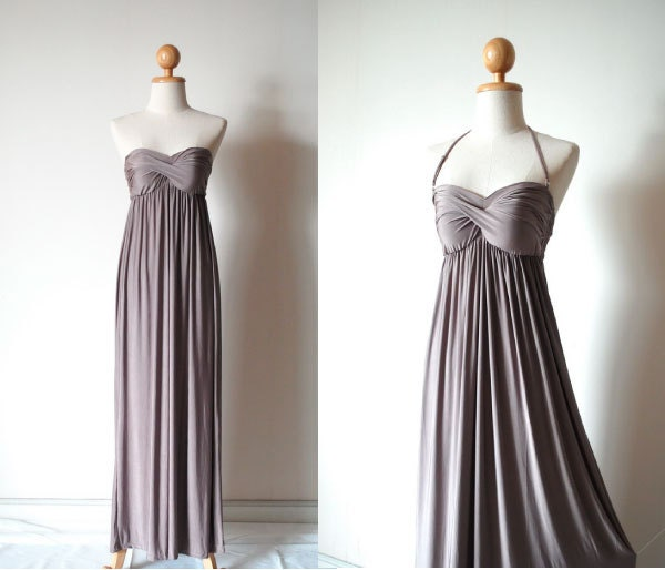 What Colours Not To Wear To A Wedding: Bridesmaid Dresses Taupe Color Bridesmaid Prom Dress