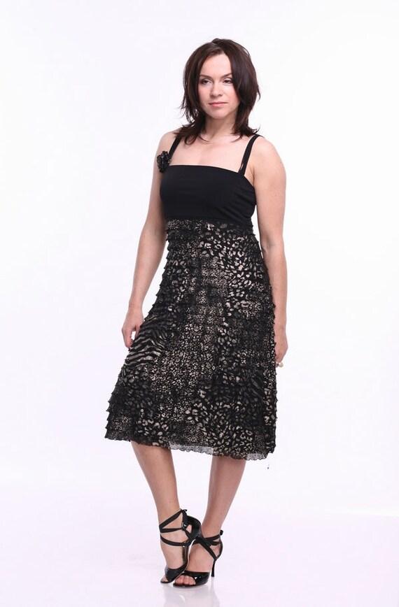 Dress Tango Straps Ooak Tango With Black Clothes Tango Dress Tango
