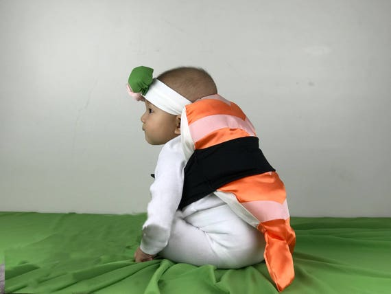 Shrimp Sushi Costume for Baby Infant Toddler Kid Child